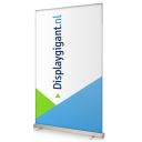 HQ roll-up banner
