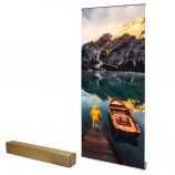 Advanced roll up banner